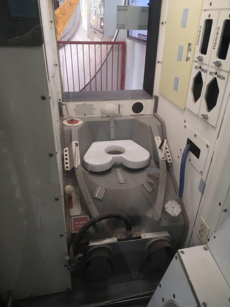 Weltraum Toilette