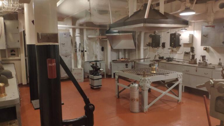 Werkstatt und Schmiede