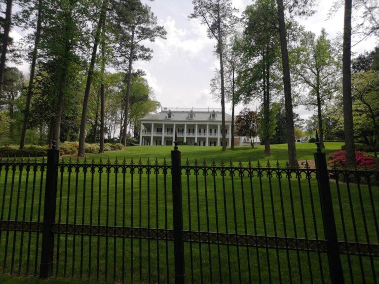 großes Haus bei Atlanta