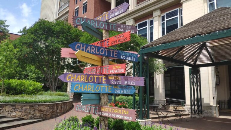 Alle Wege nach Charlotte
