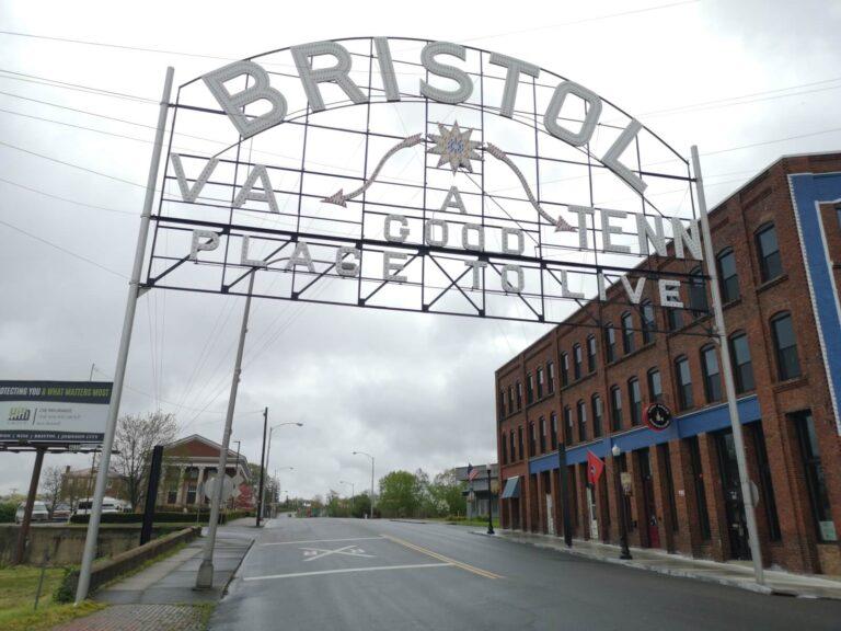 Bristol Strassenschild