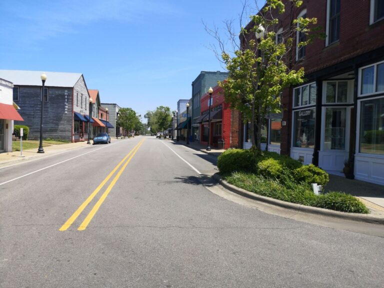 Columbia NC Innenstadt