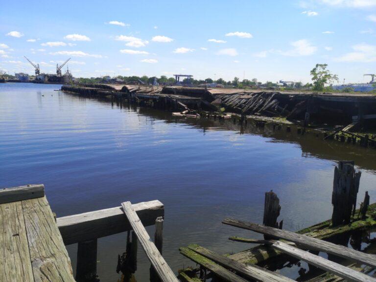 Norfolk baufälliger Hafen