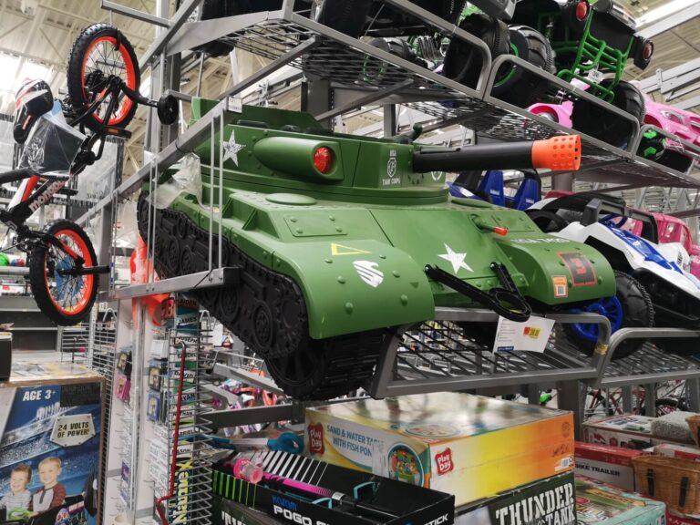 Walmart Panzer für Kinder