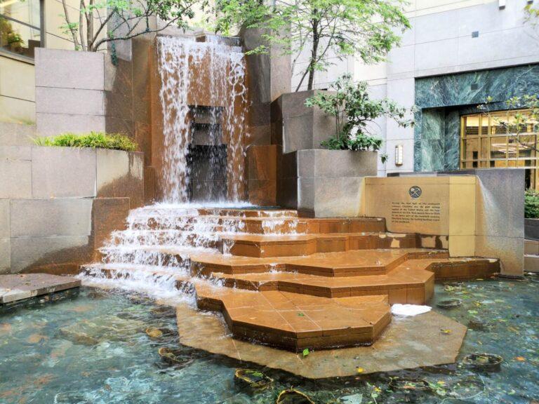 Wasserfall in Charlotte