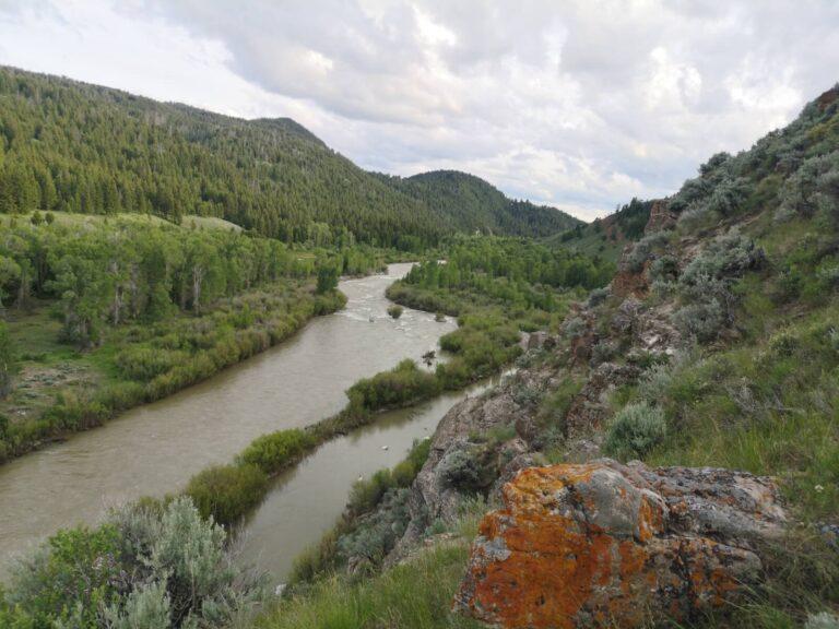 Bridger Teton Fluß