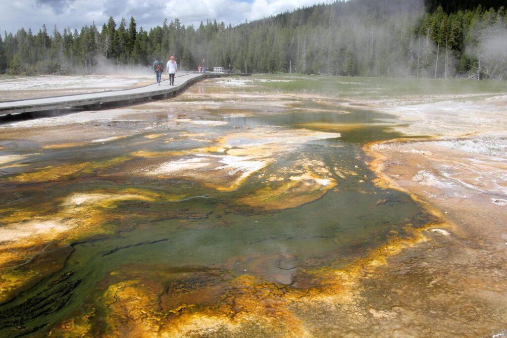 Yellowstone Bakteriensee