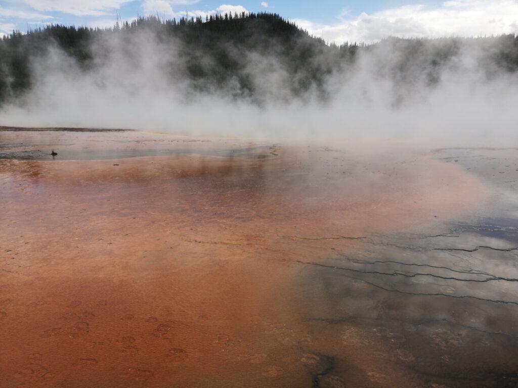 Yellowstone Vulkanlandschaft