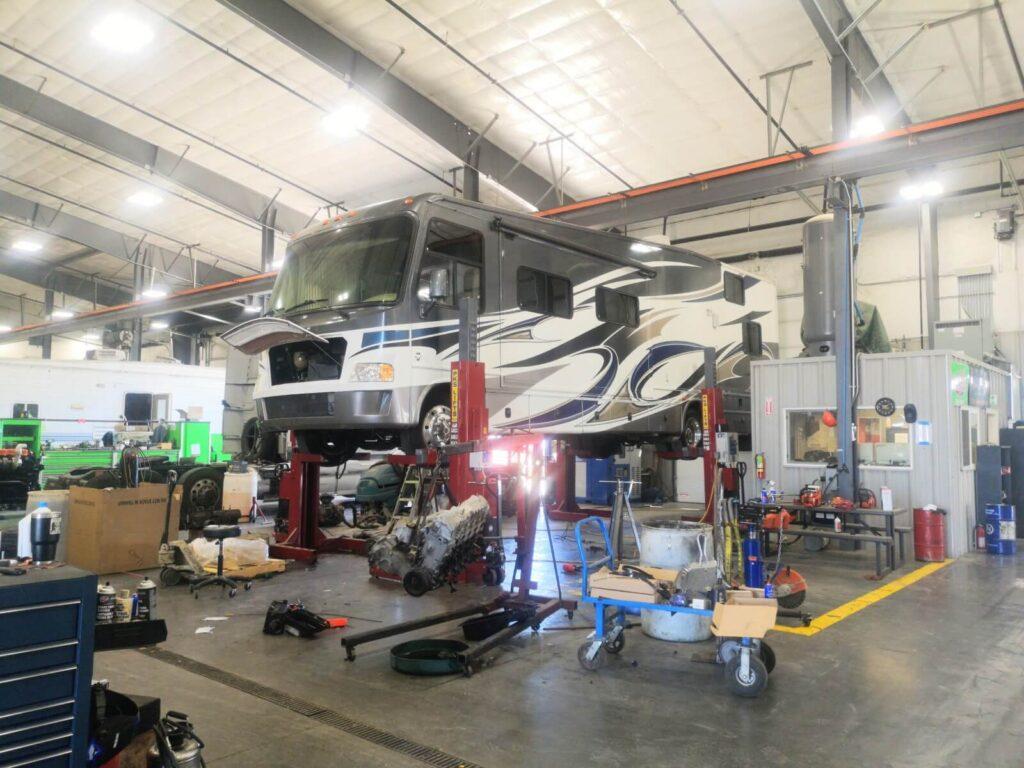 Hebebühne Truck Repair