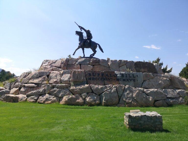 Buffalo Bill Denkmal