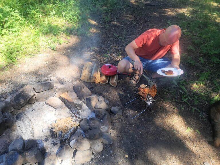 Gallatin Campground Grillen