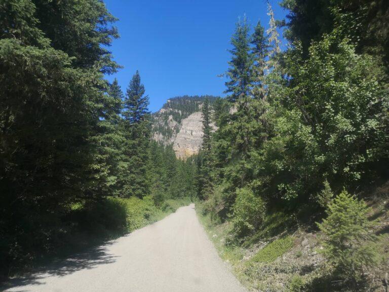 Gallatin Campground Zufahrt