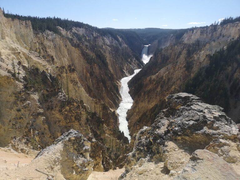 Grand Canyon Yellowstone Wasserfall