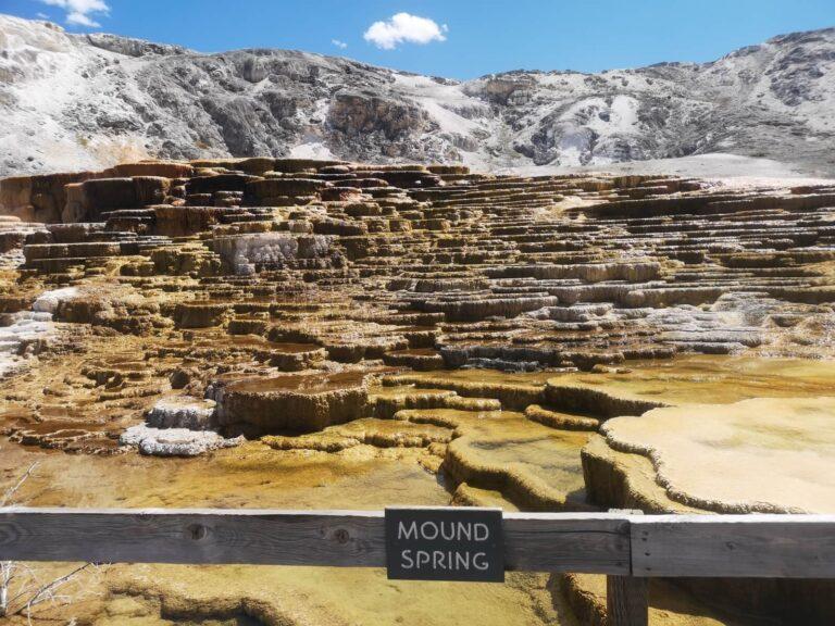 Mammoth Mound Hot Spring