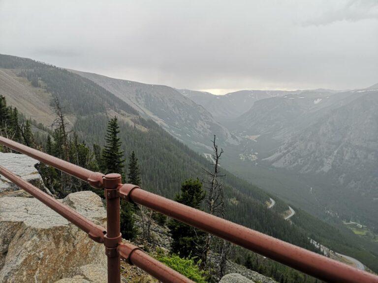 Rock Creek Vista Point Berge