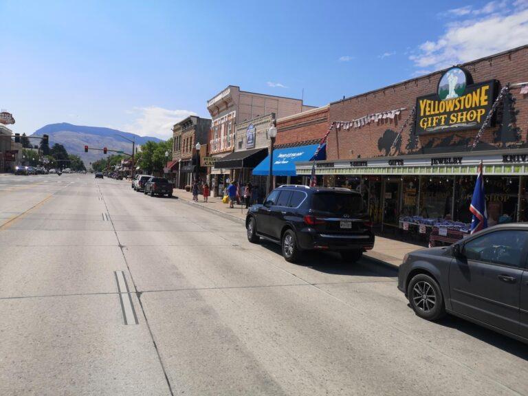 Straße in Cody