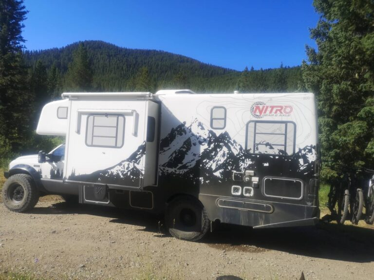 Gallatin Campground Traum Wohnmobil
