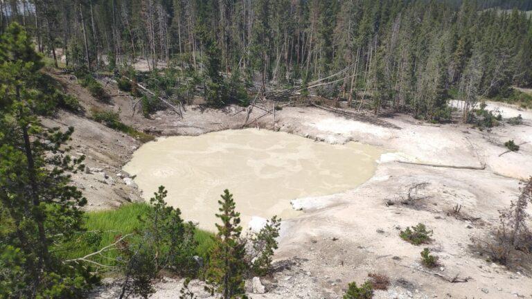 Volcanic Landscape Yellowstone