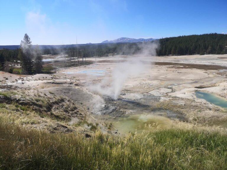 Yellowstone Norris fumaroles