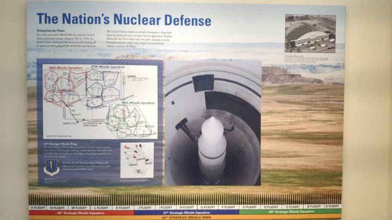 Minuteman Missile Abschußrampe