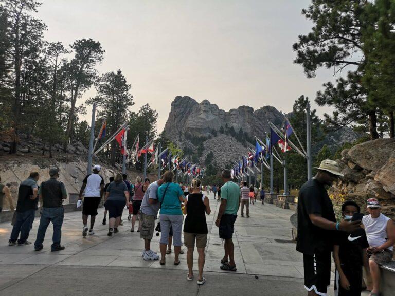 Mount Rushmore Fahnen