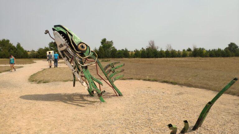 noch mehr Kunst in Carhenge