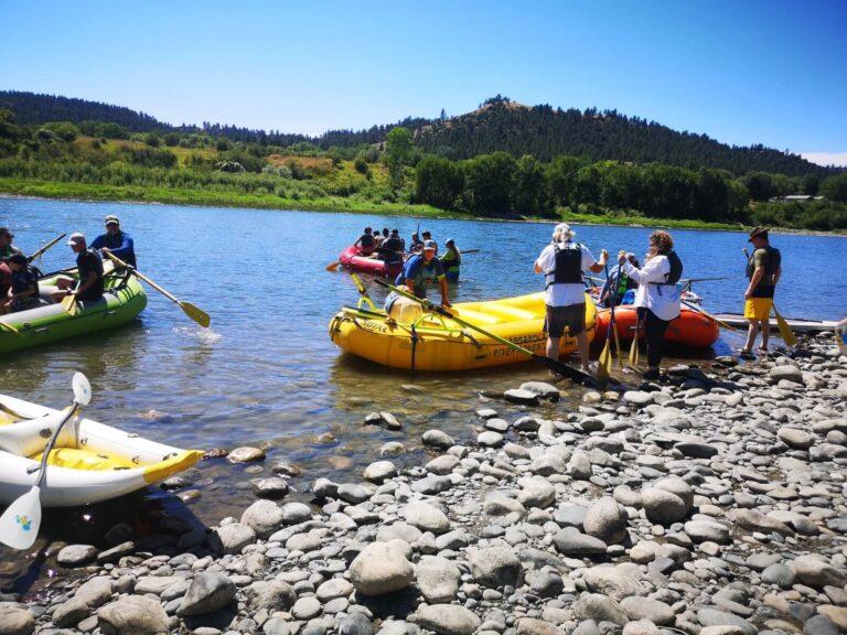 Rafting Yellowstone  Itch-Kep-Pe City Park