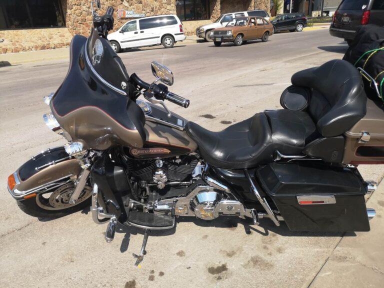 Harley in Sturgis