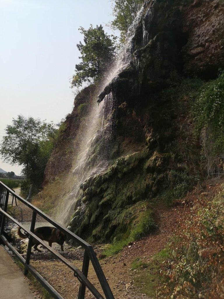 Wasserfall Hot Springs