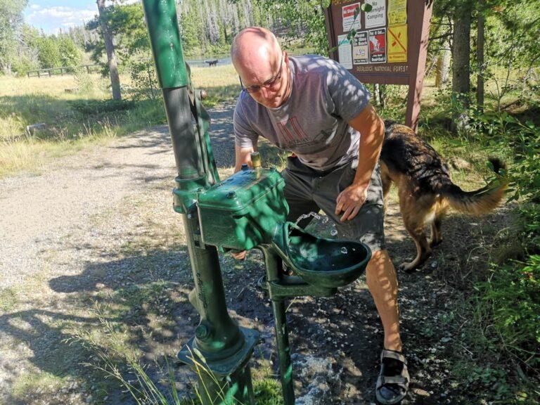 Wasserpumpe Homestake