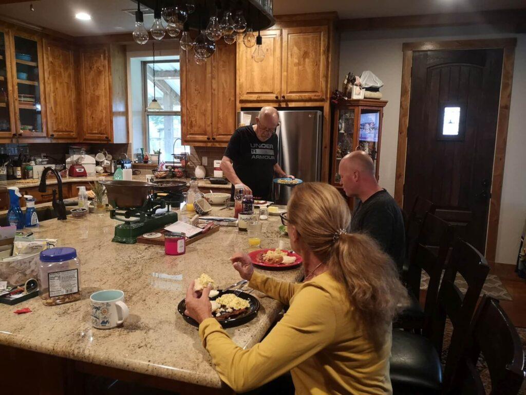 Essen bei Hyla und Richard