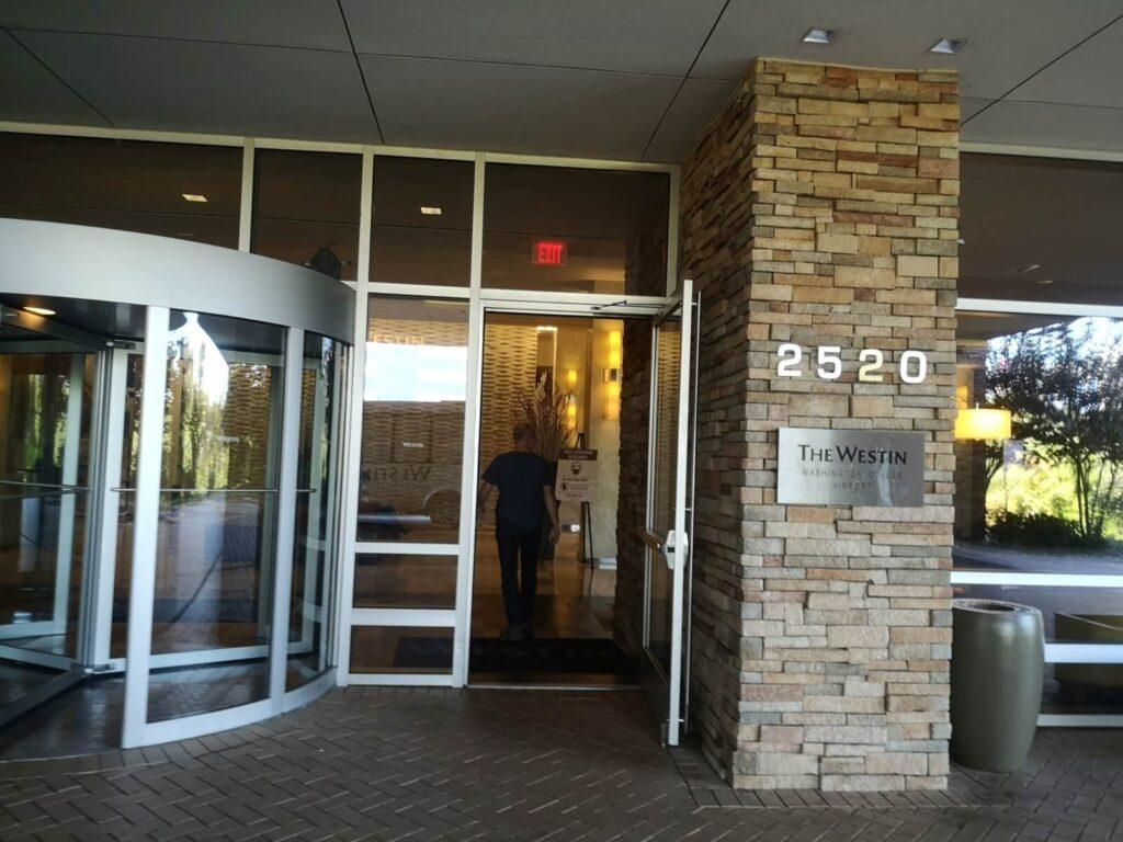 Westin Dulles Eingang